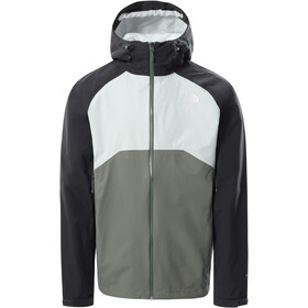 The North Face Stratos Jacket Men agave green/TNF black/tin grey
